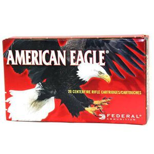Federal American Eagle .223 Remington Ammunition 20 Rounds FMJ 55 Grains AE223F