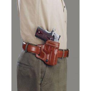 Galco Avenger Belt Holster Glock 17 22 and 31 Right Hand Leather Tan AV224