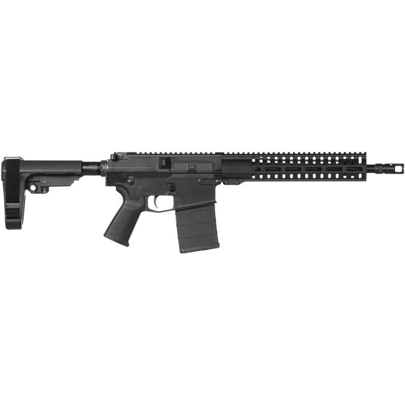 "CMMG Banshee 200 Mk3 .308 Win AR-308 Semi Auto Pistol 12.5"" Barrel 20 Rounds RML11 M-LOK Handguard CMMG Micro/CQB RipBrace Black Finish"