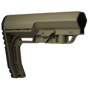 Mission First Tactical AR-15 Battlelink Minimalist Stock Commercial Polymer Dark Earth BMSSDE