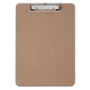 """Saunders Recycled Hardboard Clipboard low profile 8 1/2"""" x 12"""" Letter A4 Size 05512"""
