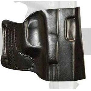 DeSantis E-GAT Holster Belt Slide for Springfield Hellcat Right Hand Leather Black