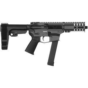 "CMMG Banshee 300 MkGs 9mm Luger AR-15 Semi Auto Pistol 5"" Barrel 33 Rounds Uses GLOCK Style Magazines RML4 M-LOK Handguard CMMG Micro/CQB RipBrace Sniper Grey Finish"