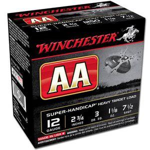 "Winchester AA Super Handicap 12 Ga 2.75"" #7.5Lead 25 rds"