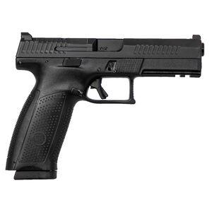 "CZ P-10 F Full Size Optics Ready 9mm Luger Semi Auto Pistol 4.5"" Barrel 10 Rounds Night Sight Fiber Reinforced Polymer Frame Matte Black Finish"