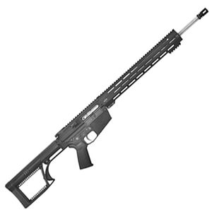 """Alex Pro Firearms Varmint .243 Winchester Semi Automatic Rifle 20"""" 416 Stainless Steel Barrel 20 Rounds M-LOK Free Float Hand Guard Luth-AR MBA-2 Stock Matte Black"""