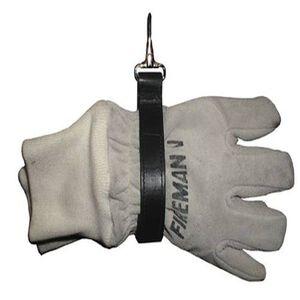 Boston Leather Firefighter's Glove Strap, Ballstic Weave Finish