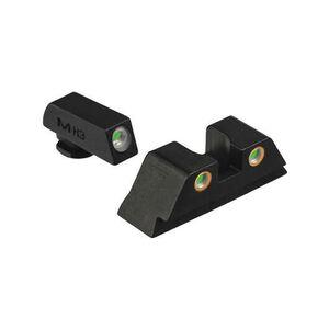 Meprolight TRU-DOT Night Sights for GLOCK 42/43/48 Tritium Enhanced Black