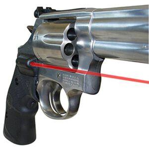 Crimson Trace Lasergrip Hog Hunter S&W K, L Frame Round Butt Revolver Rubber Black LG-308