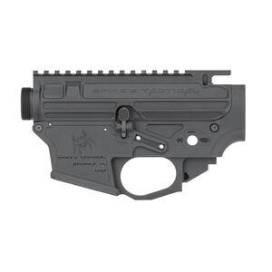 Spikes Tactical 9mm Luger AR Style Gen II Receiver Set GLOCK Magazine Compatible Matte Black Finish