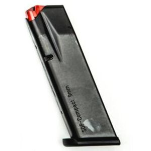 SPHINX SDP Compact Magazine 9mm Luger 15 Rounds Steel Black S4-PXXXX-X001