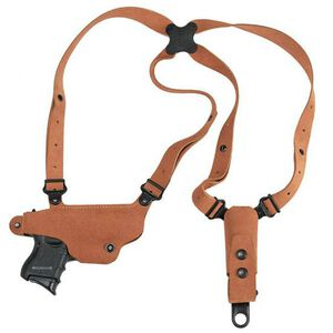 Galco Classic Lite Shoulder Holster System FN/HK/Springfield Armory Right Hand Draw Leather Natural Finish