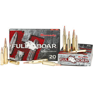 Hornady Full Boar .243 Winchester Ammunition 20 Rounds GMX LF 80 Grains 80454