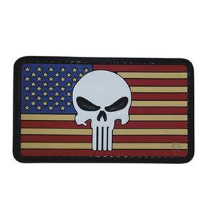 5ive Star Gear PVC Morale Patch Vintage Punisher Flag
