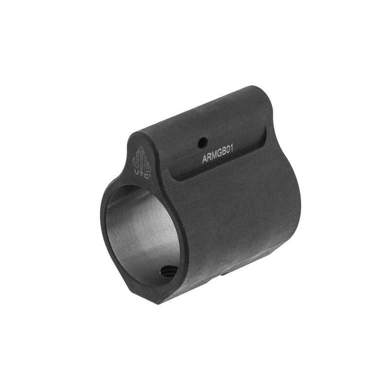 "UTG AR-15 Micro Gas Block, .750"" ID, Steel, Locking Set Screw"