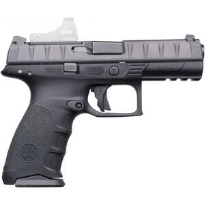"Beretta APX RDO .40 S&W Semi Auto Pistol 4.25"" Barrel 15 Rounds Integral Red Dot Optic Mount Polymer Frame Black"