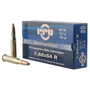 Prvi Partizan 7.62x54R Ammunition 20 Rounds SP-BT 150 Grains
