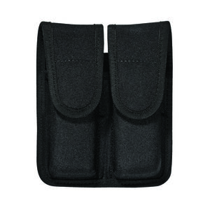 Bianchi 8002 Double Magazine Pouch Beretta Browning GLOCK H&K Ruger S&W SIG Sauer Springfield Walther PatrolTek Black 31510