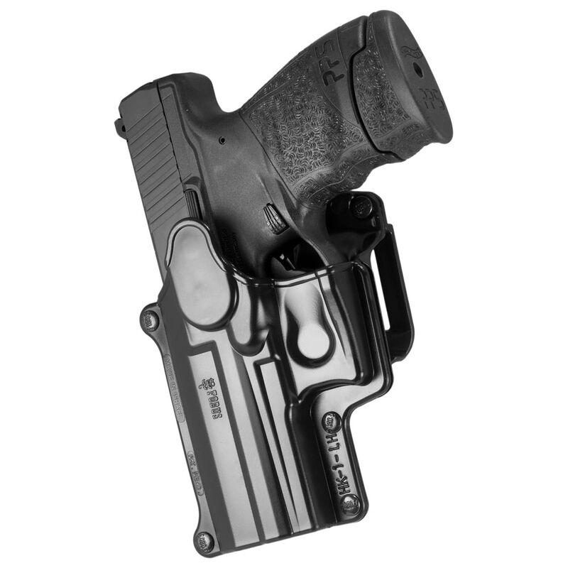 Fobus Holster H&K USP/Ruger SR9,SW9/Walther PPS M2 Left Hand Belt Attachment Polymer Black