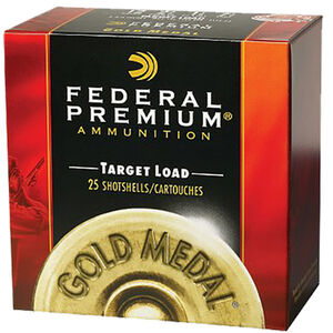 "Federal Premium Gold Medal Plastic 28 Gauge Ammunition 2-3/4"" #9 Lead Shot 3/4 Ounce 1230 fps"