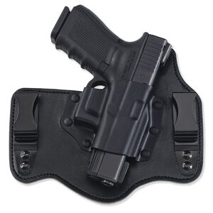 Galco Gunleather KingTuk Ruger LC9 Tuckable Inside the Waistband Holster Right Hand Kydex and Leather Black KT636B