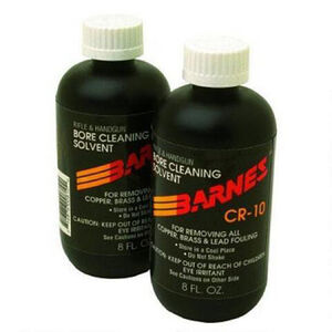 Barnes CR-10 Bore Cleaner Copper And Powder Solvent 8 oz Bottle 30755