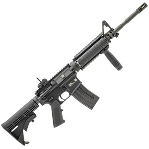 """FNH USA FN15 Military Collector M4 AR-15 Semi Auto Rifle 5.56 NATO 16"""" Barrel 30 Rounds Knights RAS Adapter Rail Covers Collapsible Stock Black"""