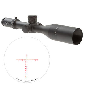 Trijicon AccuPower 4.5-30x56 SFP Long-Range Riflescope with Red/Green MOA Crosshair, 34mm Tube