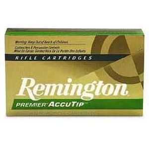 Remington .223 Remington Premier Ammunition 20 Rounds, AccuTip-V, 55 Grains