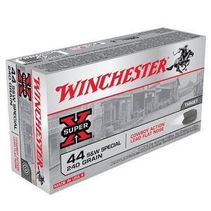 Winchester Cowboy 44 S&W SPL 240 Grain FN 50 Round Box