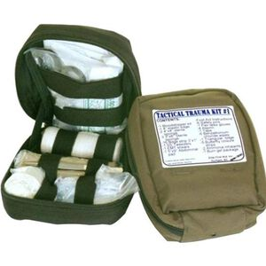 VooDoo Tactical MOLLE Tactical Trauma Kit Nylon OD Green 10-8858004000