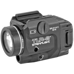 Streamlight TLR-8 Tactical Light 500 Lumens Red Laser Black
