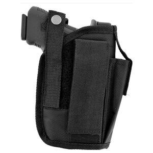 AimShot Universal Ambidextrous Pistol Holster Nylon Black