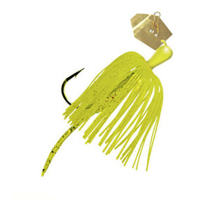 """Z-man ChatterBait Micro Lures 3"""" Length 1/8 oz Weight Chartreuse"""