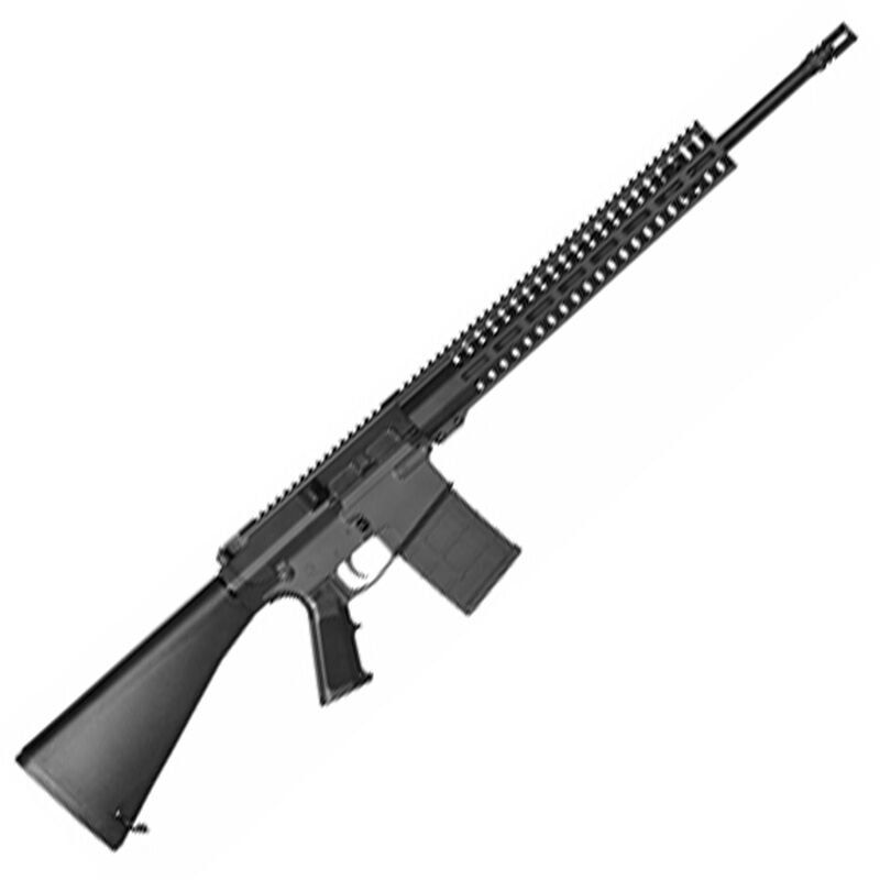 """CMMG Endeavor 100 Series .308 Winchester AR Style Semi Auto Rifle 20"""" Barrel 20 Rounds CMMG RML15 M-LOK Hand Guard A2 Pistol Grip/A1 Fixed Stock Matte Black Finish"""