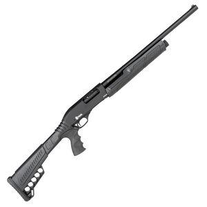 "Citadel PAX CDP-12 12 Gauge Pump Action Shotgun 20"" Barrel 3"" Chamber 3 Rounds FO Front Sight Synthetic Pistol Grip Stock Black Finish"