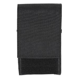 Voodoo Tactical .308 Precision Rifle Single 10 Round Magazine Pouch Hook/Loop Flap MOLLE Webbing Compatible Nylon Black