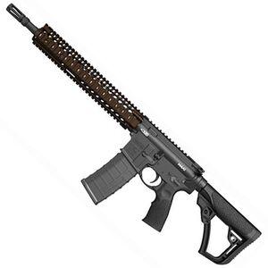 """Daniel Defense M4A1 AR-15 Semi Auto Carbine 5.56 NATO 14.5"""" Barrel 30 Rounds RIS II Overmolded Stock and Grip 02-088-06027-011"""