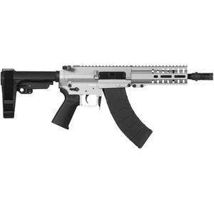 "CMMG Banshee 300 Mk47 7.62x39mm AR-15 Semi Auto Pistol 8"" Barrel 30 Round AK-47 Magazine RML6 M-LOK Handguard CMMG Standard RipBrace Titanium Finish"