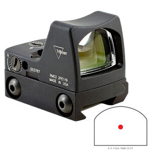 Trijicon RMR Type 2 LED Sight 6.5 MOA Red Dot with RM33 Picatinny Rail Mount