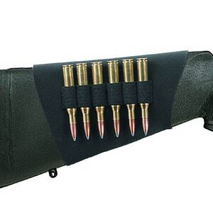 Neoprene Rifle Buttstock Shell Holder