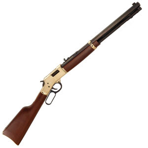 "Henry Big Boy Lever Action Rifle .327 Federal 20"" Octagon Barrel 10 Rounds Polished Hardened Brass Receiver American Walnut Stock Blued Barrel"