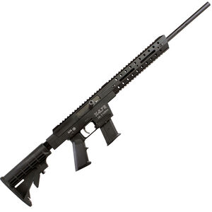 """Excel Arms X-Series X5.7R 5.7x28mm Semi Automatic Rifle 18"""" Barrel 10 Rounds Aluminum Construction Collapsible Stock Black"""