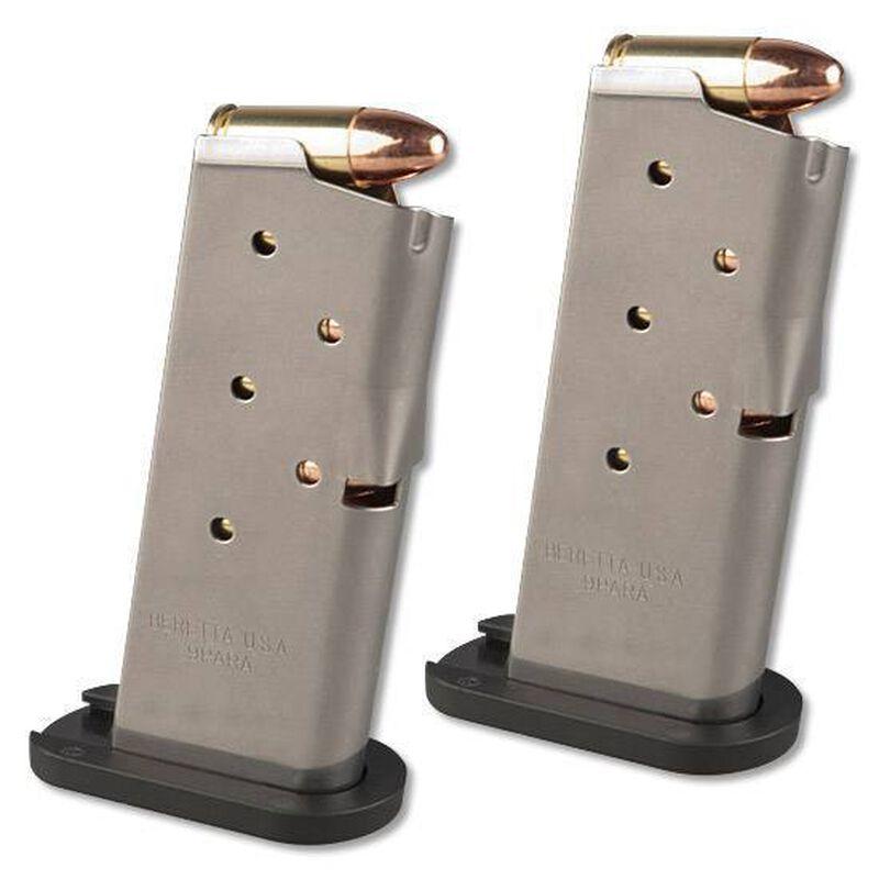 "Beretta BU9 Nano Semi Automatic Pistol 9mm Luger 3"" Barrel 6 Round Capacity Polymer Grip Matte Black Finish JMN9S15"