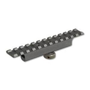 Lion Gears AR-15 Carry Handle Optics Mount 12 Slots Aluminum Black BMC12P3