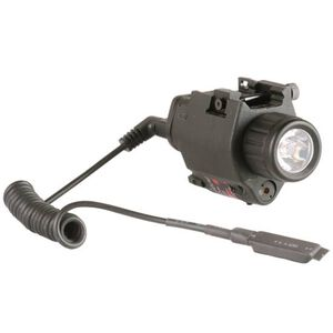 CAA Weapon Mounted Light and Red Laser Picatinny Rail Mount Black TLL