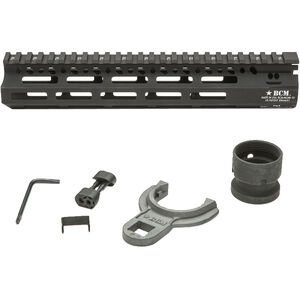 "Bravo Company USA MCMR AR-15 10"" Free Float M-LOK Handguard Aluminum Black"