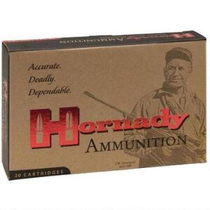 Hornady Custom .250 Savage Ammunition 20 Rounds InterLock SP 100 Grains 8132