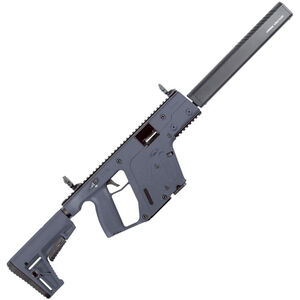 "Kriss USA Kriss Vector Gen II CRB 9mm Luger Semi Auto Rifle 16"" Barrel 17 Rounds Kriss M4 Stock Adapter/Defiance M4 Stock Combat Grey Finish"