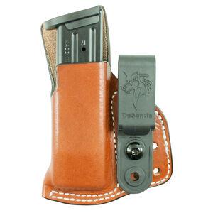 """Desantis Gunhide Hidden Cache Mag Pouch IWB S&W 9/40S&W Double Stack Magazines Fits 1.75"""" Belt Tan"""